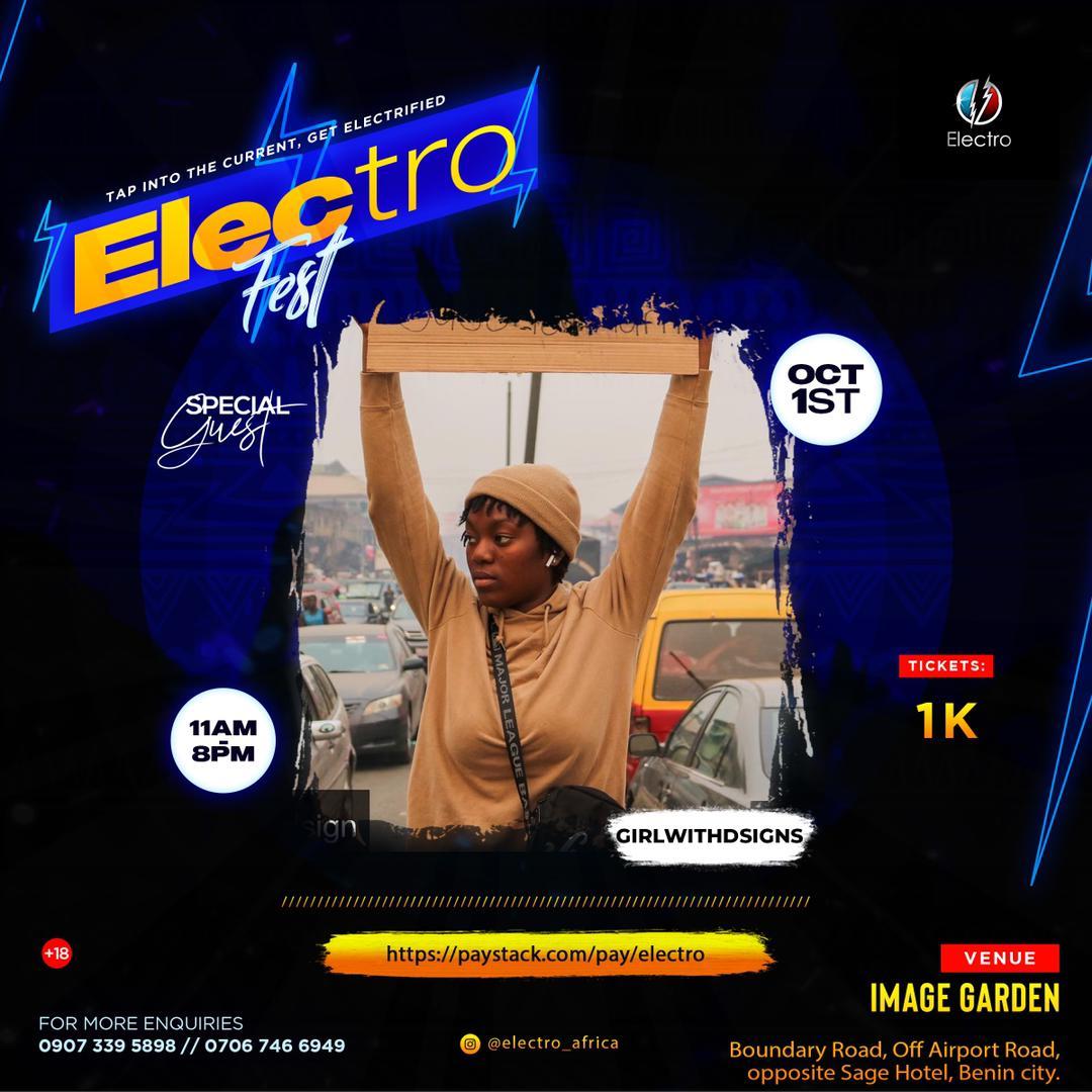 Electro Fest | Critic Circle | Girlwiththesign