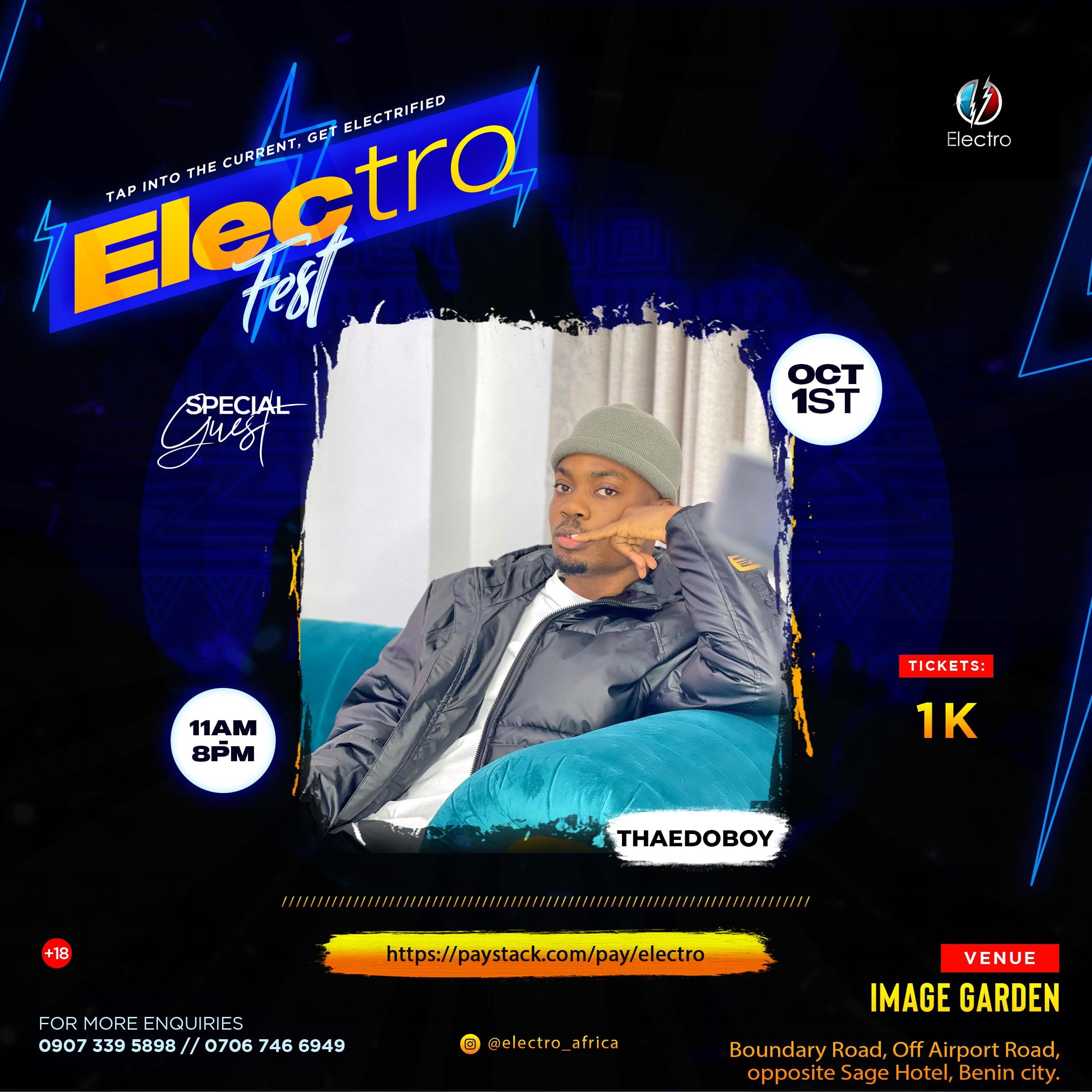 Electro Fest | Critic Circle | ThaEdoBoy