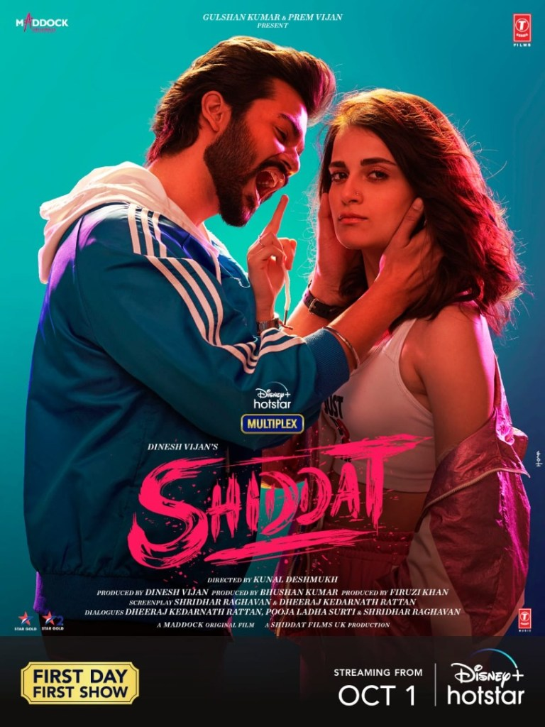 Bollywood: Shiddat (2021) [Download Movie]