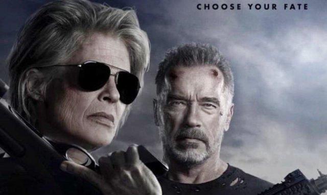 "New ""Terminator: Dark Fate"" Poster."