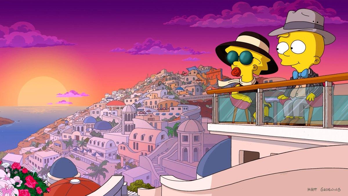 """El cortometraje animado de """"The Simpsons"""" """"Maggie Simpson in ..."""