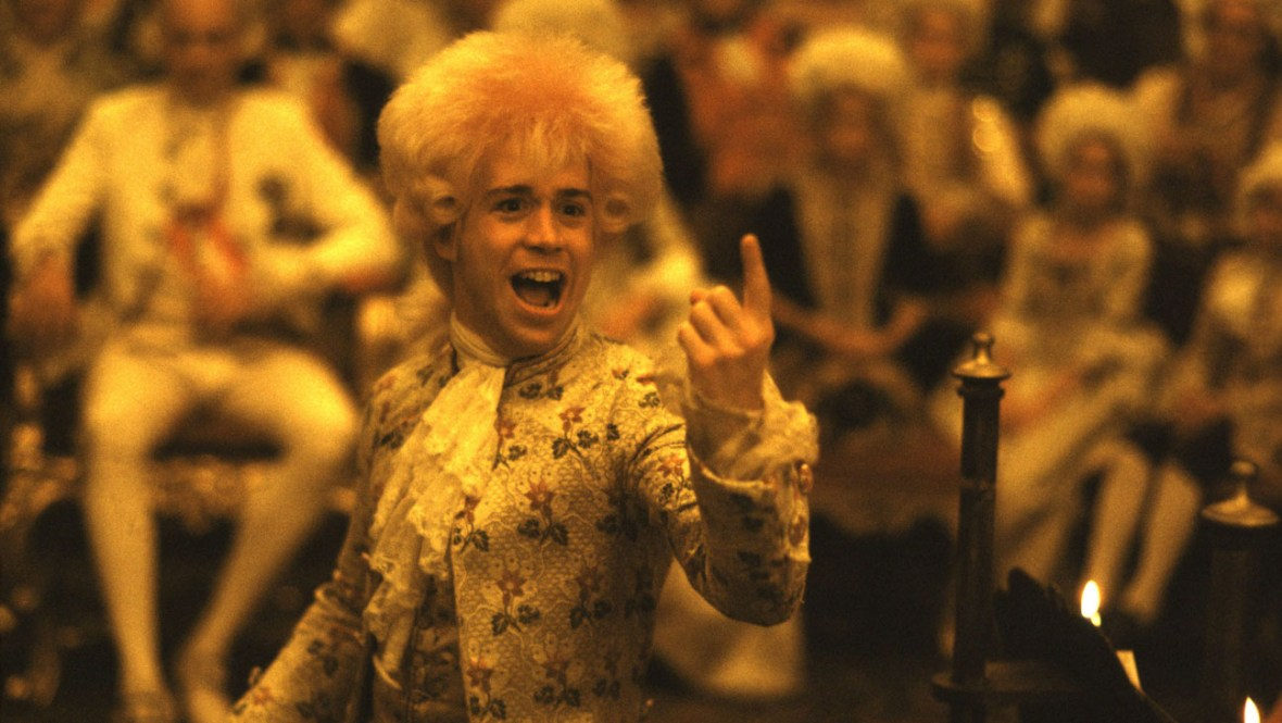 AMADEUS, Tom Hulce, 1984. (c) Warner Bros./ Courtesy: Everett Collection.