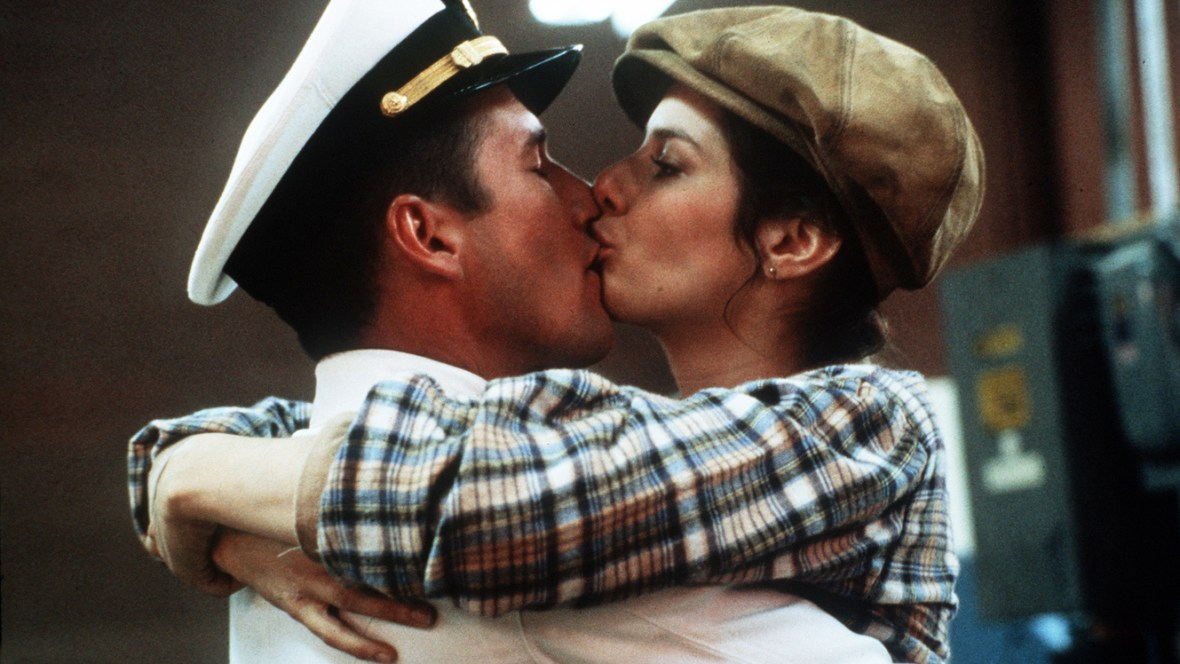 RICHARD GERE AND DEBRA WINGER AN OFFICER AND A GENTLEMAN © SKY CINEMA