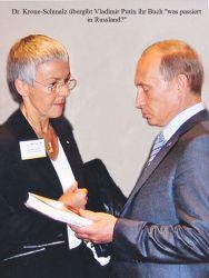 Frau Dr Krone Schmalz RT Russian Truth