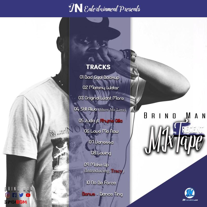 Brino Man the Mixtape