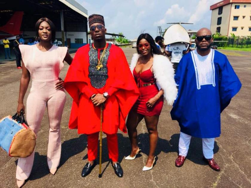 Laura Dave, Stanley Enow, Daphne and Pit Baccardi