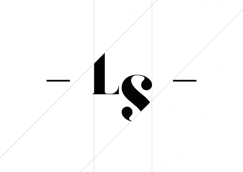 Logotipo simplificado para Laura Stil Lleida. Logotip simplificat per a Laura Stil Lleida.