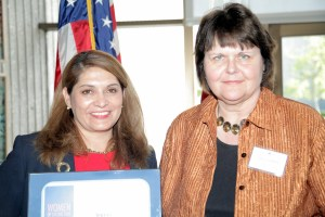 Assemblywoman Sharon Quirk-Silva recognizes Joyce Capelle, CEO, of Crittenton Services as a 2013 Woman of Distinction for the 65th District.