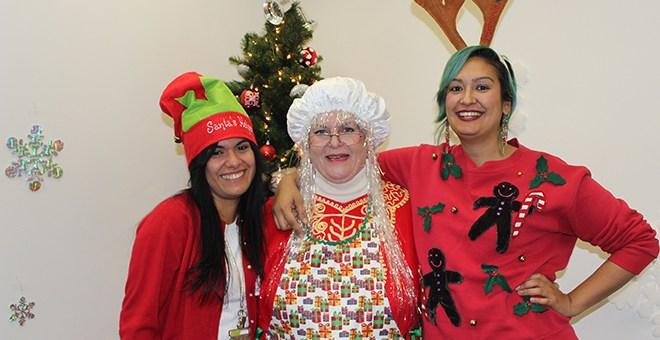Crittenton Staff Enjoying the Holidays