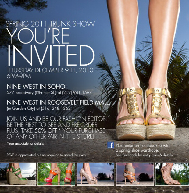 NINE WEST SPRING PREVIEW