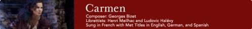 No MET a ópera Carmen em uma versão pra lá de especial.