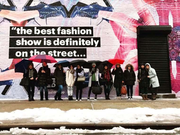 Bastidores de um curso de moda em Nova York - NY Fashion Tour - Crivorot Scigliano - tour de moda em Nova York - Marcia Crivorot - Silvia Scigliano