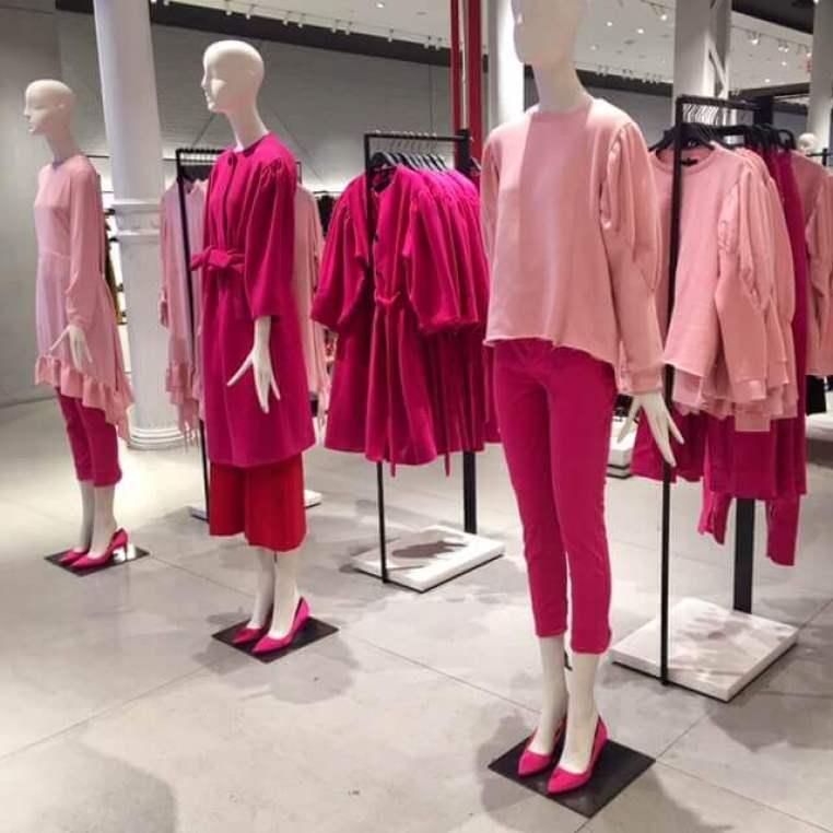 Lojas de Nova York - Zara - cor rosa - Crivorot Scigliano - tendencia - Marcia Crivorot  - personal stylist - personal stylist em Nova York - personal shopper em Nova York