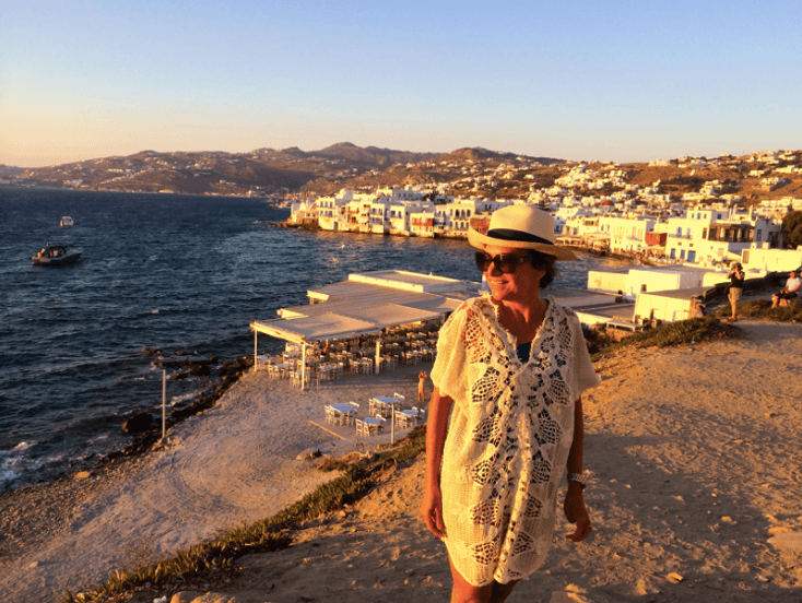 Greece Trip- Mykonos - Little Venice - Marcia Crivorot