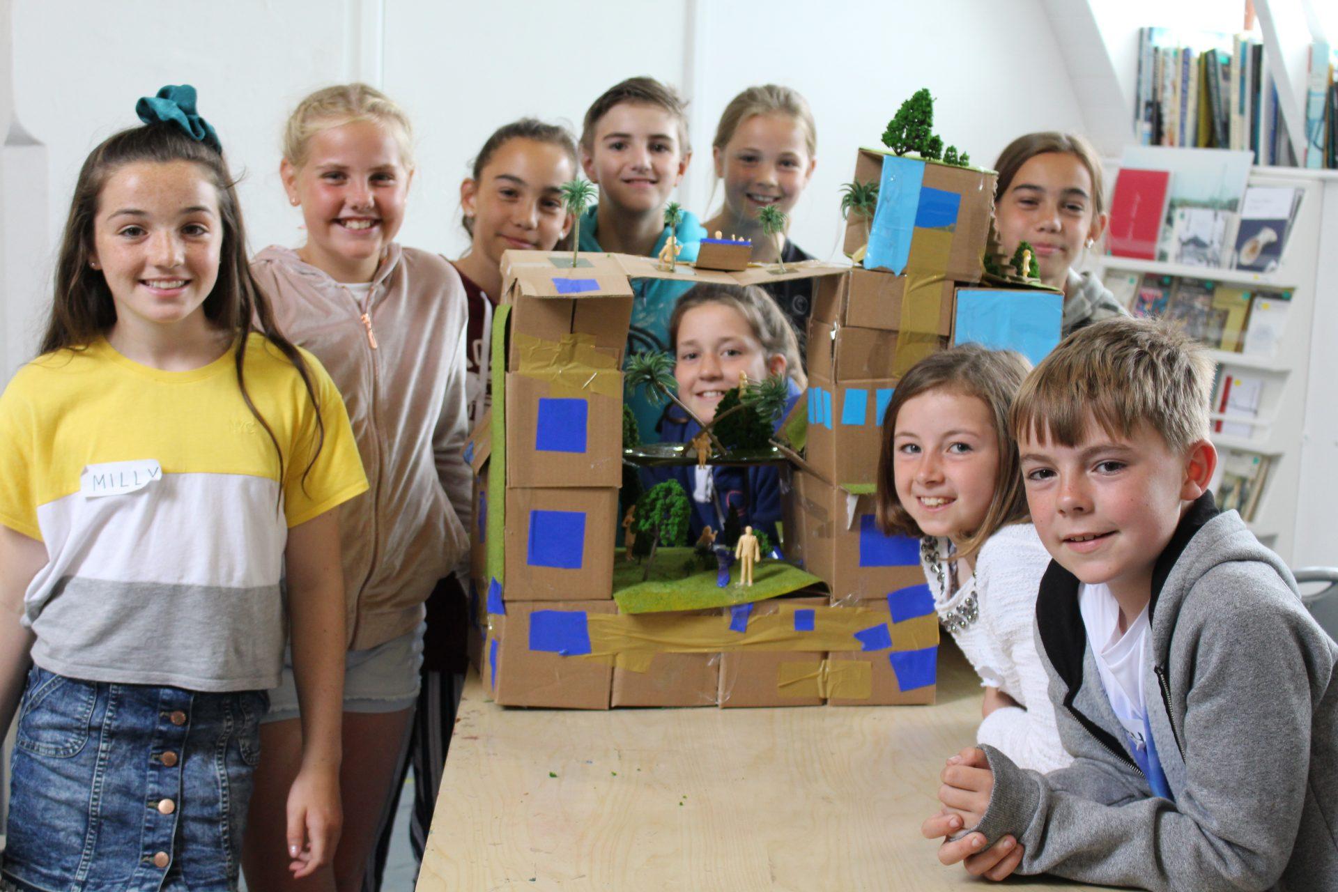 Banner Image - students smiling after a workshop.