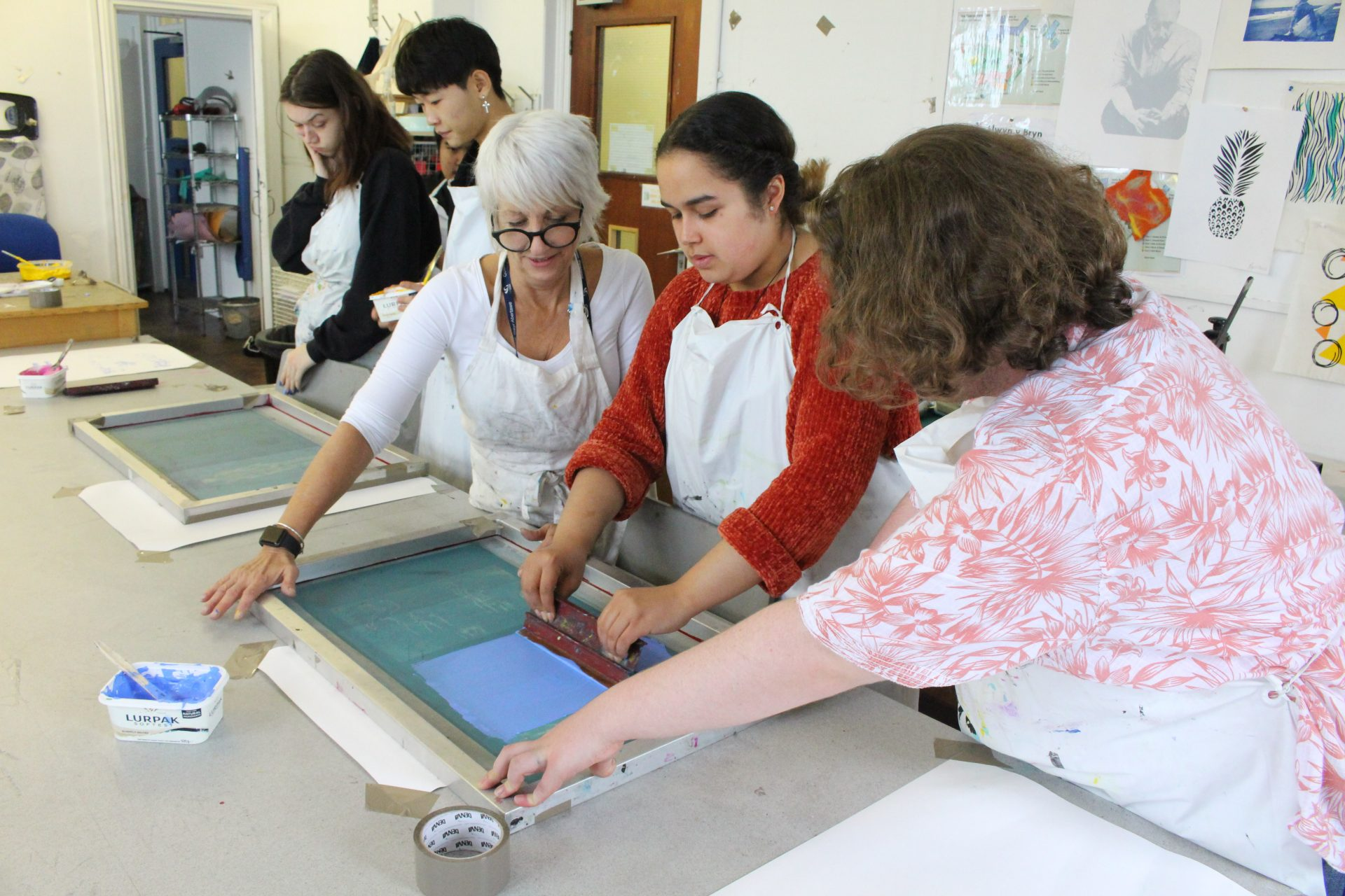 Screen printing masterclass with Mary Passmore
