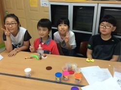 Making clay animals!