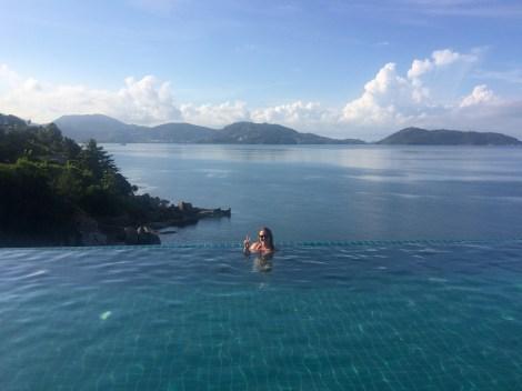 Phuket Hotel Pool! Just amazing.
