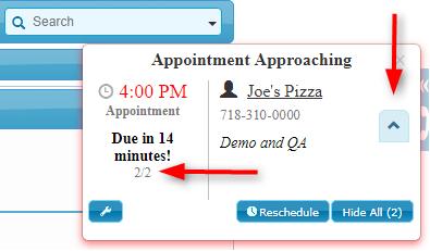 New Enhancement – CRM Calendar Reminders Setting