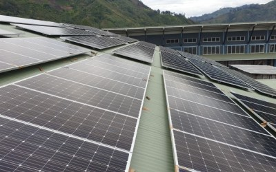 CRMF involved in the largest solar installation