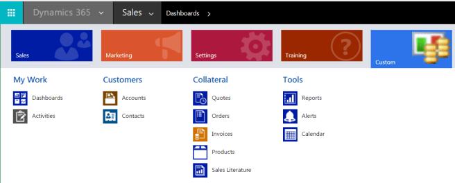 Dynamics 365 Sitemap Designer  Microsoft Dynamics 365
