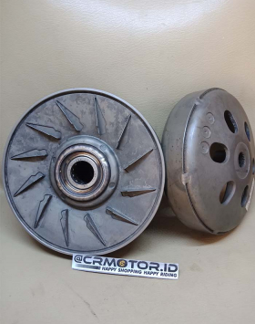 Slidding Pully CVT Set Honda Vario 110 Karbu Old