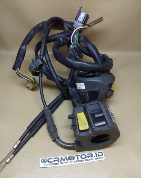Holder Set Kanan Kiri Set Kabel Gas Honda Megapro Primus