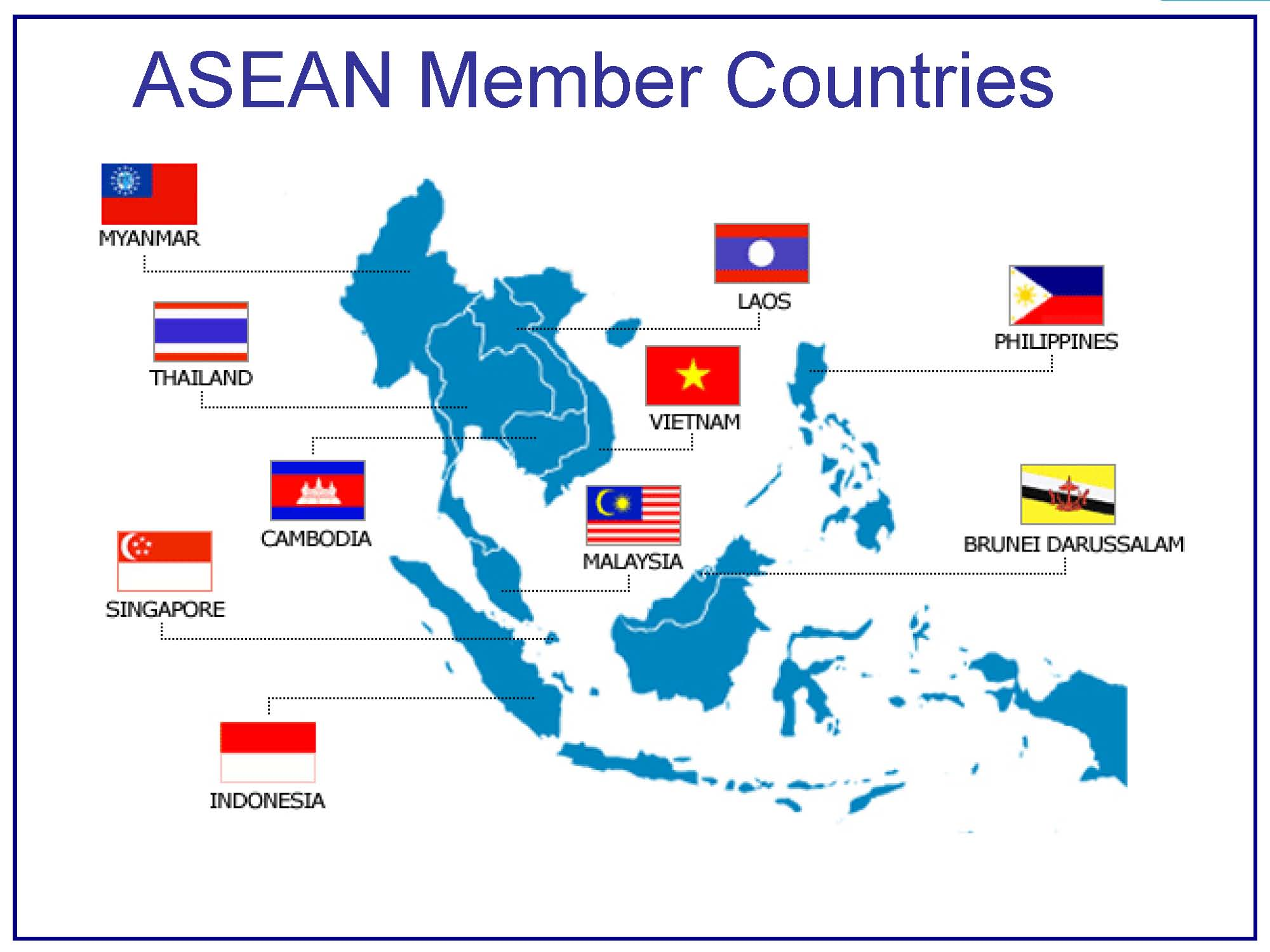 Image result for list negara asean