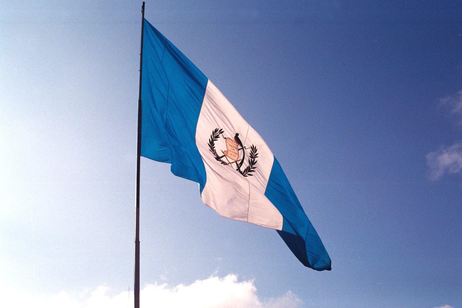 Resultado de imagen de bandera de guatemala