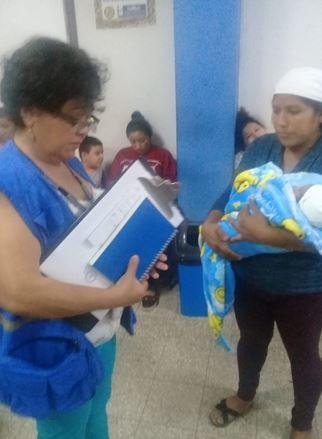 Miembros de la PDH se presentaron al Hospital Nacional luego de la denuncia de Melesio. (Foto: PDH)