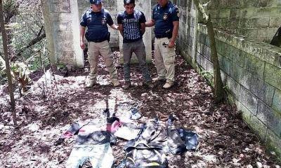 Álvaro Alfredo Escobar Barrios fue capturado por las autoridades y se le incautó marihuana entre una mochila. (Foto: Carlos Ventura)