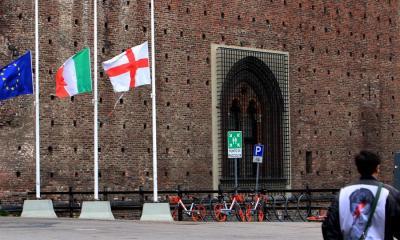 Los fallecidos en Italia superaron los 12 mil luego de registrarse 837 en las últimas 24 horas. (Foto: EFE)