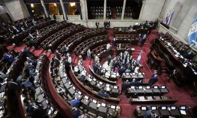 Los diputados eligieron a los magistrados que estarán al frente del Tribunal Supremo Electoral para el período 2021-2025 (Foto: Congreso de la República)