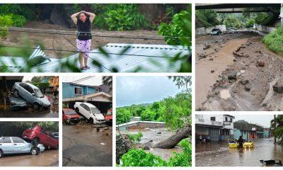 La tormenta tropical Amanda provocó la muerte de al menos ocho personas e inundaciones y deslaves en varios sectores de El Salvador. (Foto: Redes Sociales)