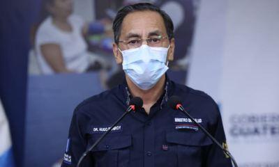 Guatemala registró 311 casos de COVID-19 en un mismo día, informó el Ministro de Salud, Hugo Monroy. (Foto: SCSP)