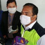 Amilcar Montejo confirmó a periodistas que existen seis agente de la PMT contagiados con COVID-19. (Foto: Twitter)