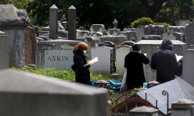 Las cifras de fallecidos por COVID-19 en EE. UU., superan a los muertos que dejó la Primera Guerra Mundial. (Foto: EFE)