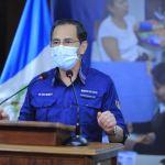 El Ministro de Salud Hugo Monroy, brindó una nueva actualización de datos del COVID-19 en Guatemala. (Foto: SCSP)