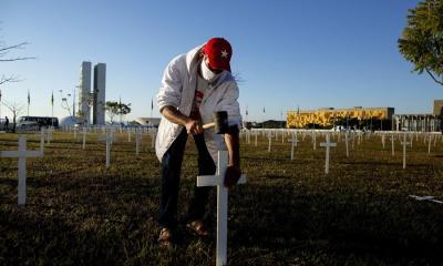 Brasil es el segundo país más golpeado por la pandemia del COVID-19 en latinoamérica, solo por detrás de Estados Unidos. (Foto: EFE)