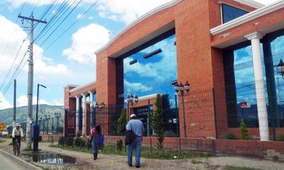 Dos casos de Coronavirus se reportan en el Registro de la Propiedad en la zona 6 de Xela y otro más en a la subsede en Coatepeque. (Foto: Carlos Ventura)
