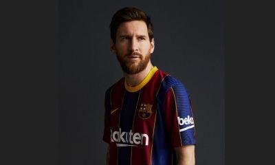 El Barcelona colgó en sus redes sociales las fotografías de su nuevo uniforme para la próxima temporada con Lionel Messi como uno de los protagonistas. (Foto: FC Barcelona)