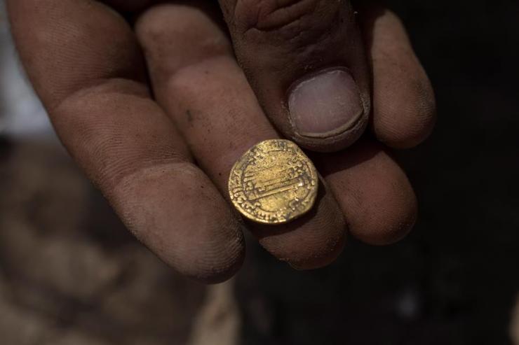 Las monedas se encuentran en perfecto estado debido a que son de oro puro. (Foto: EFE)