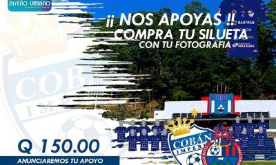 Los aficionados de Cobán Imperial podrán tener su silueta en el Estadio Verapaz, en el debut en el torneo frente a Municipal, esté sábado a las 15:30 horas. (Foto: Cobán Imperial)