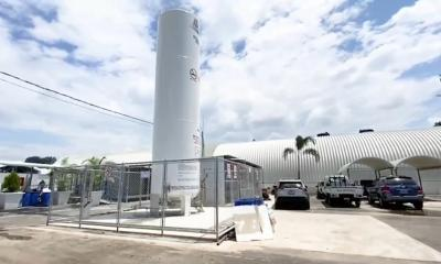 El Hospital temporal en Escuintla se encuentra ubicado en el kilometro 92 de la carretera CA-2.