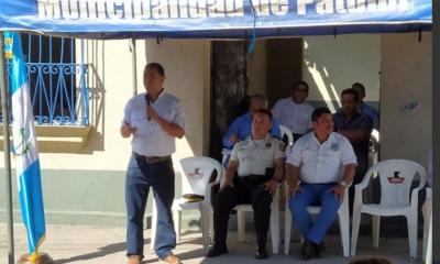 Gerson Barragan en ese entonces gobernador de Suchitepequez, inauguro en enero 2020 la sub estacion.jpeg