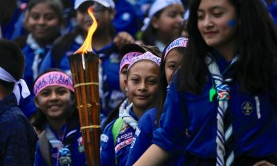 La tradicional antorcha en la celebración del día de la independencia, es otro de los eventos que fueron prohibidos debido a la pandemia del COVID-19. (Foto: AGN)