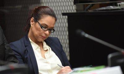 La exvicepresidenta Roxana Baldetti se negó este viernes a ser trasladada al Hospital General San Juan de Dios. (Foto: República GT)