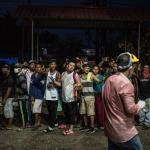 Guatemala decretó estado de calamidad por el riesgo de contagios por COVID-19, debido a la caravana de migrantes que ingresó de forma ilegal al país. (Foto: EFE)
