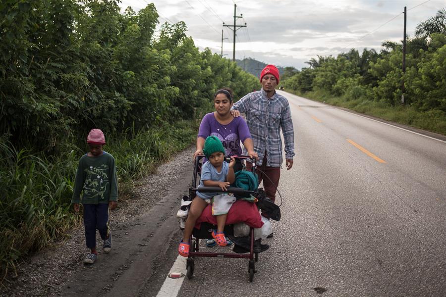 El Gobierno de Guatemala aseguró que Honduras se niega a recibir a los migrantes retornados, quienes ingresaron ilegalmente a territorio guatemalteco. (Foto: EFE)