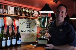 Winemaker at Coolongatta